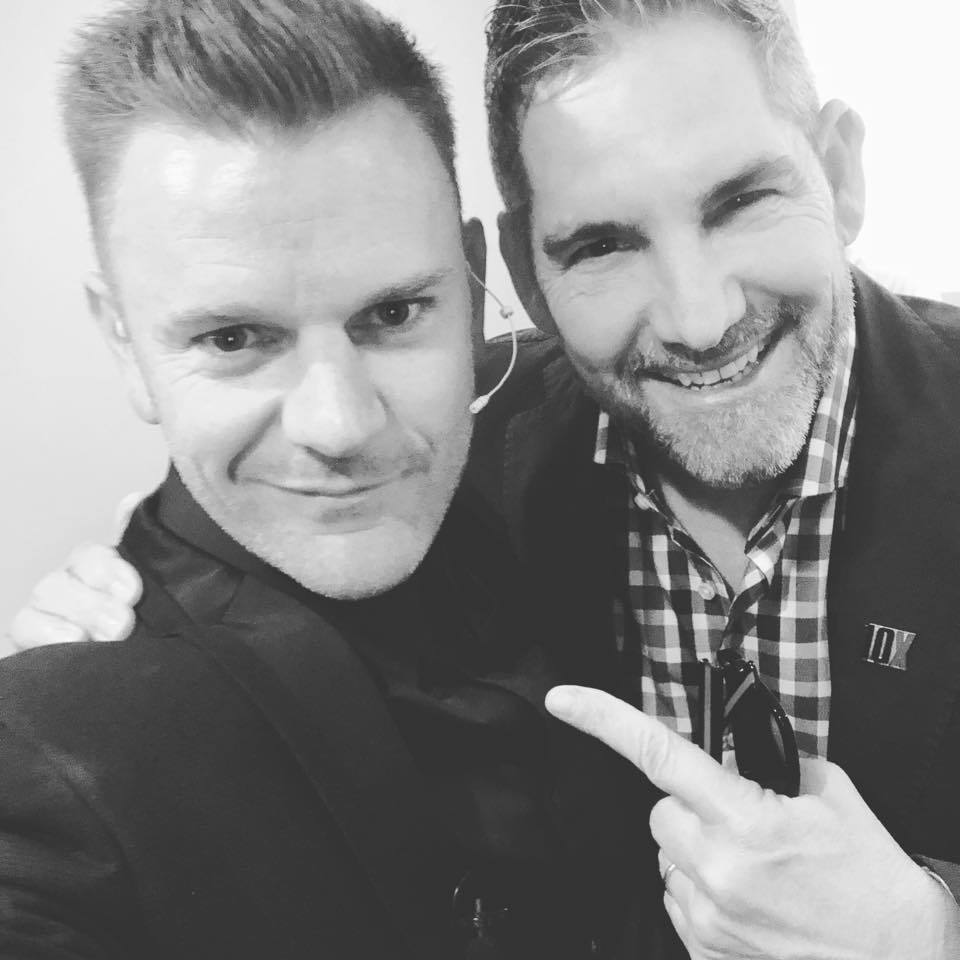 Nick James with Grant Cardone