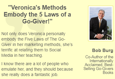 Bob Burg, Co-Author of Go-Givers Tweet