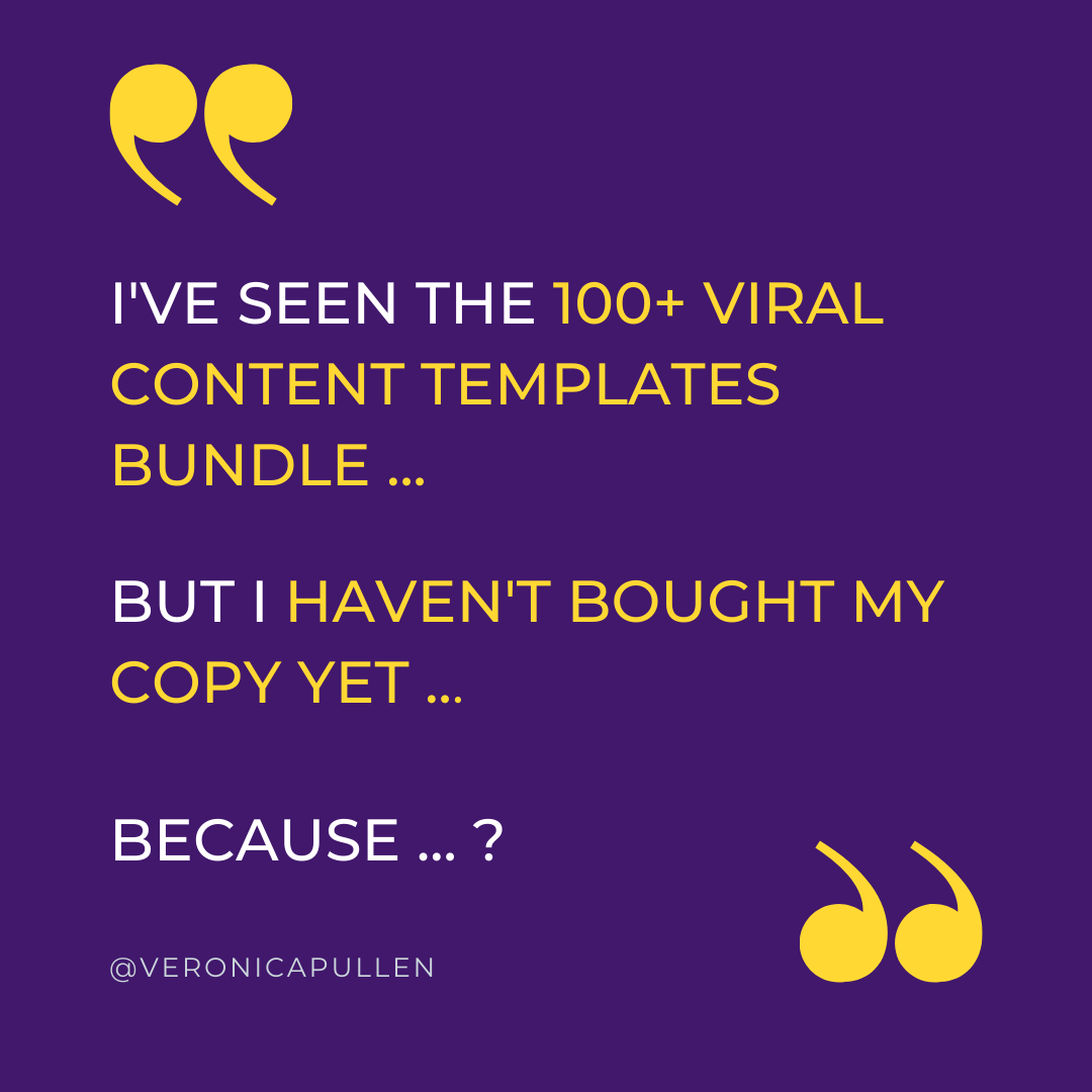 6 Benefits of the Viral Content Templates for Introverts Graphic